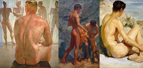 male nude art