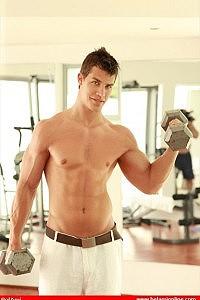 Kris Evans gay model
