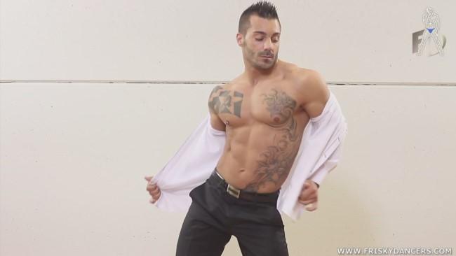male stripper Adrian