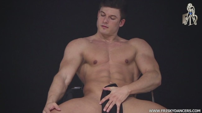 Spanish male stripper Mark