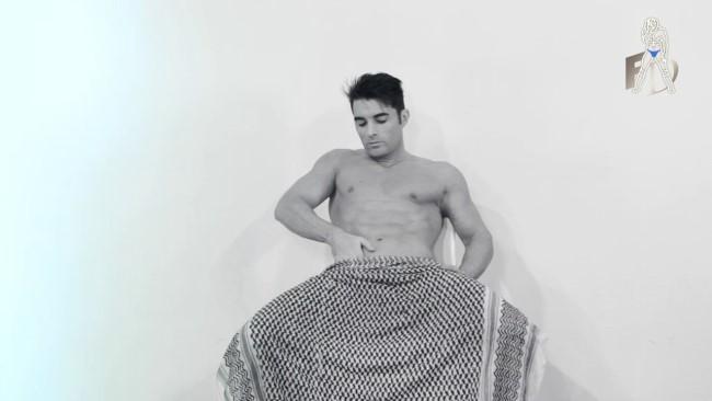 Spanish male stripper Ruben