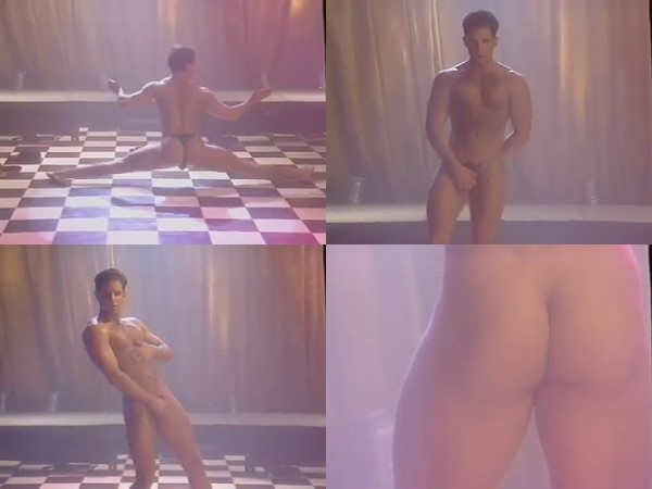naked man strip dance