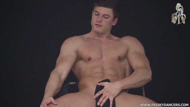 seducing male stripper