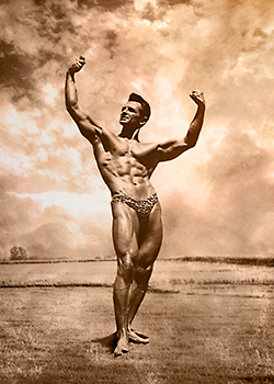 bodybuilder fine art
