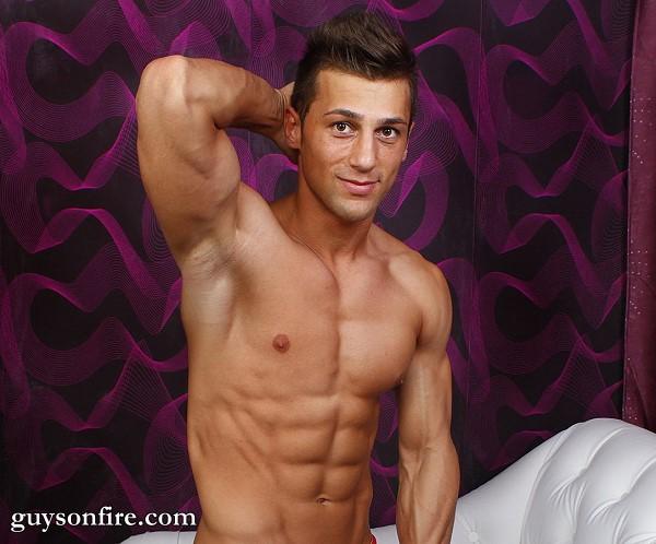 sexy muscle hunk