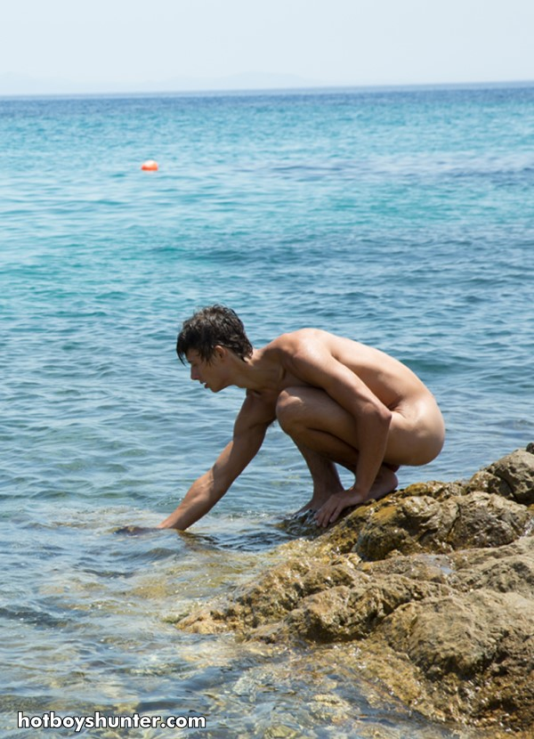 nudist young boy