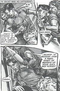Oliver Frey gay comics