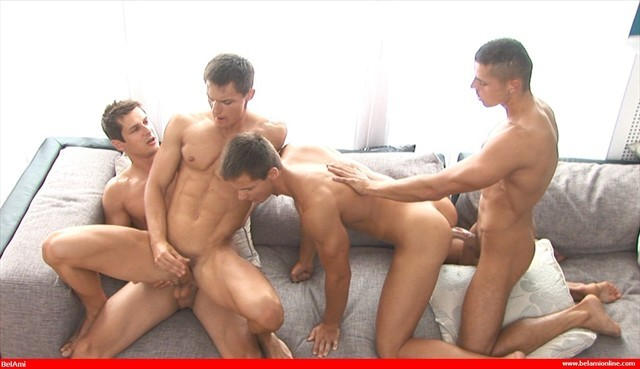 Brandon and bel ami twins
